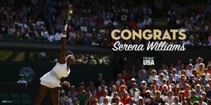 Serena 6 Wimbledon