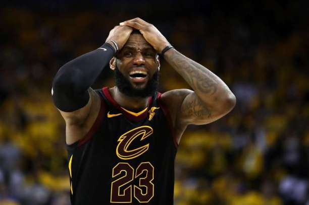 Frustrated-Lebron