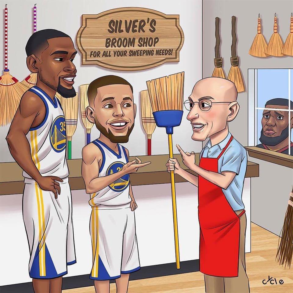 warriors sweep