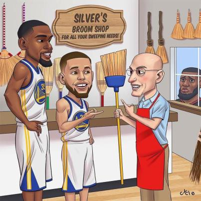 warriors sweep